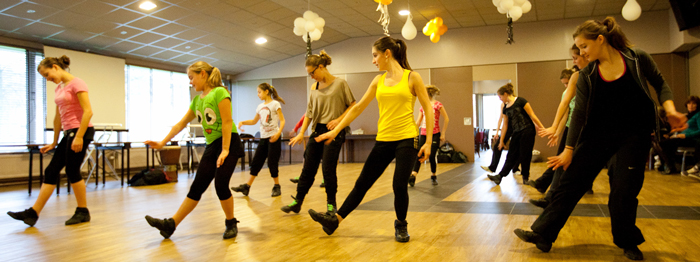Workshop dans op dansschool