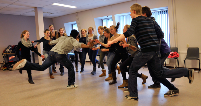 Workshop dans op school